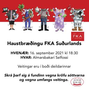 Haustbræðingur FKA Suðurlands 2021